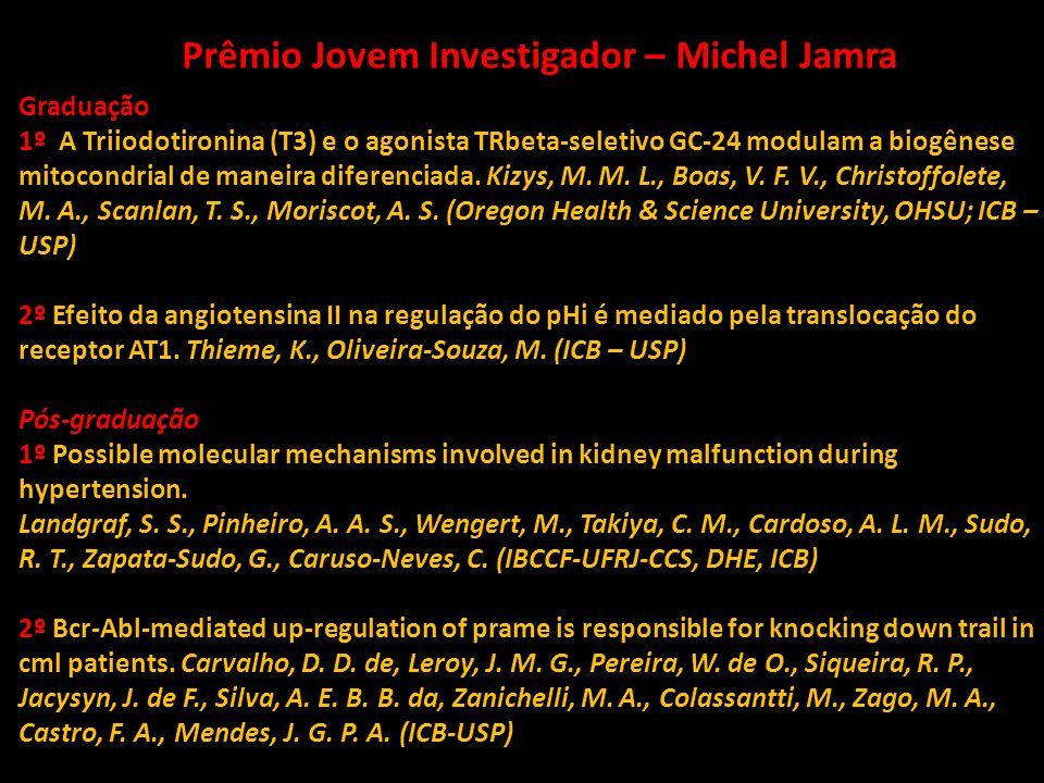 Prêmio Jovem Investigador – Michel Jamra
