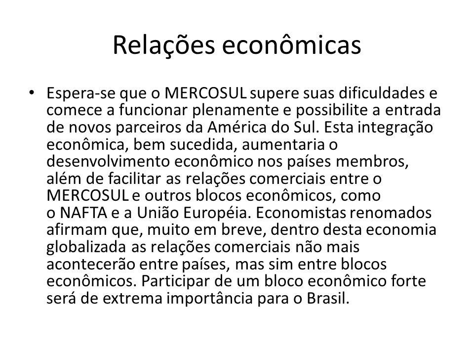 Relações econômicas