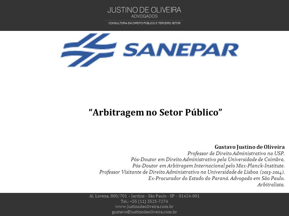 Arbitragem no Setor Público