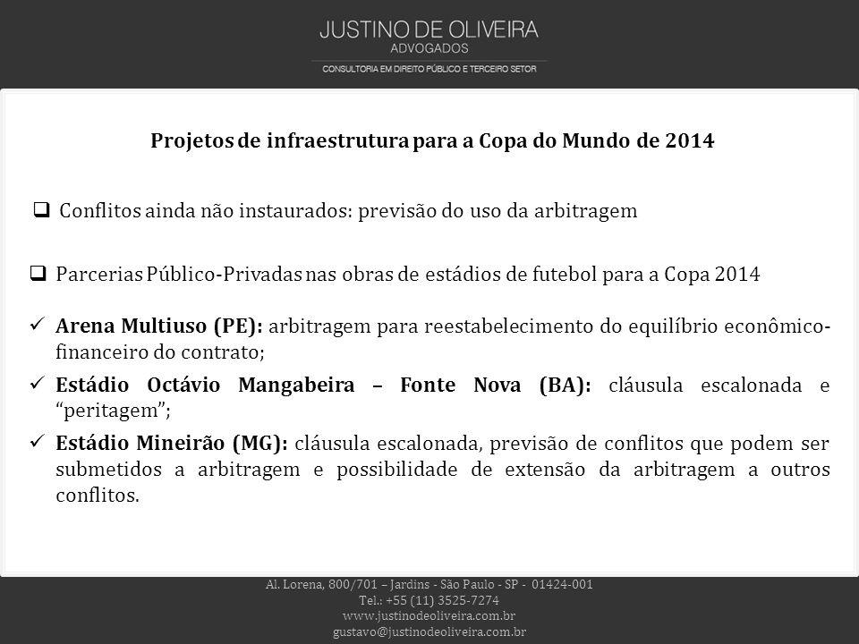 Projetos de infraestrutura para a Copa do Mundo de 2014