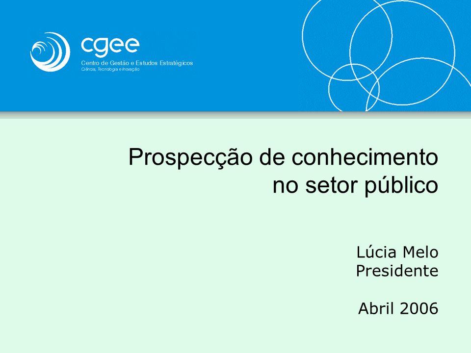 Prospecção de conhecimento no setor público