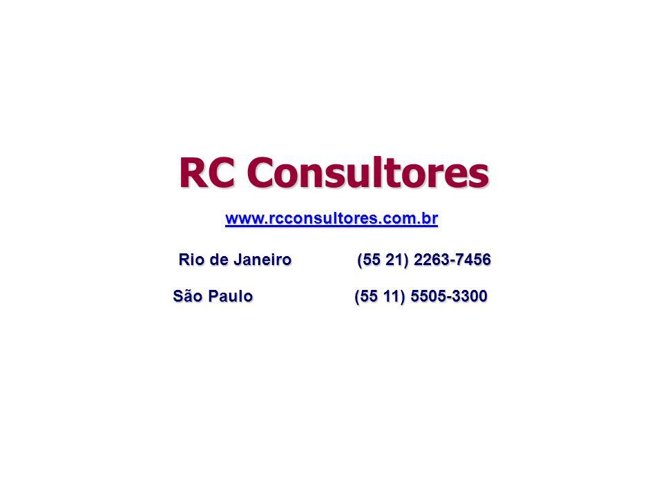 RC Consultores www.rcconsultores.com.br