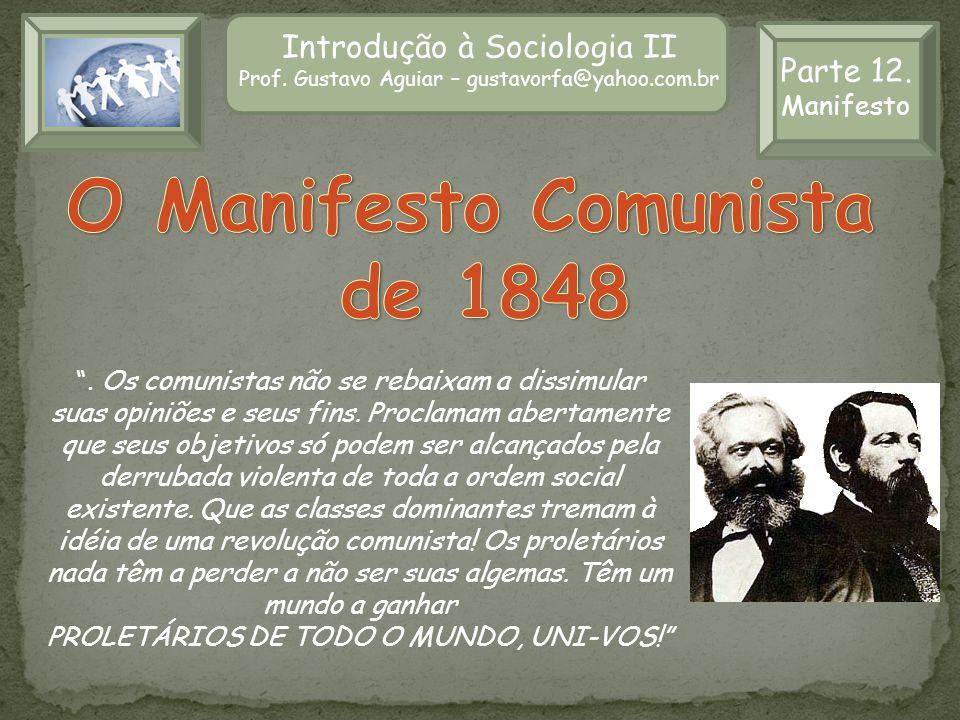 O Manifesto Comunista de 1848
