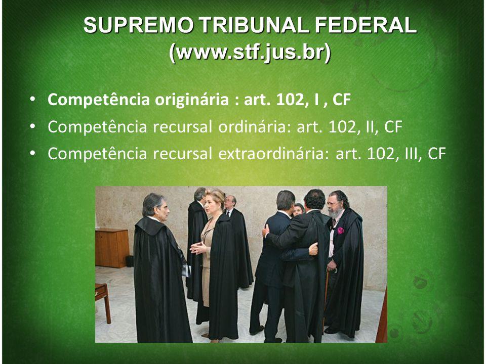 SUPREMO TRIBUNAL FEDERAL (www.stf.jus.br)