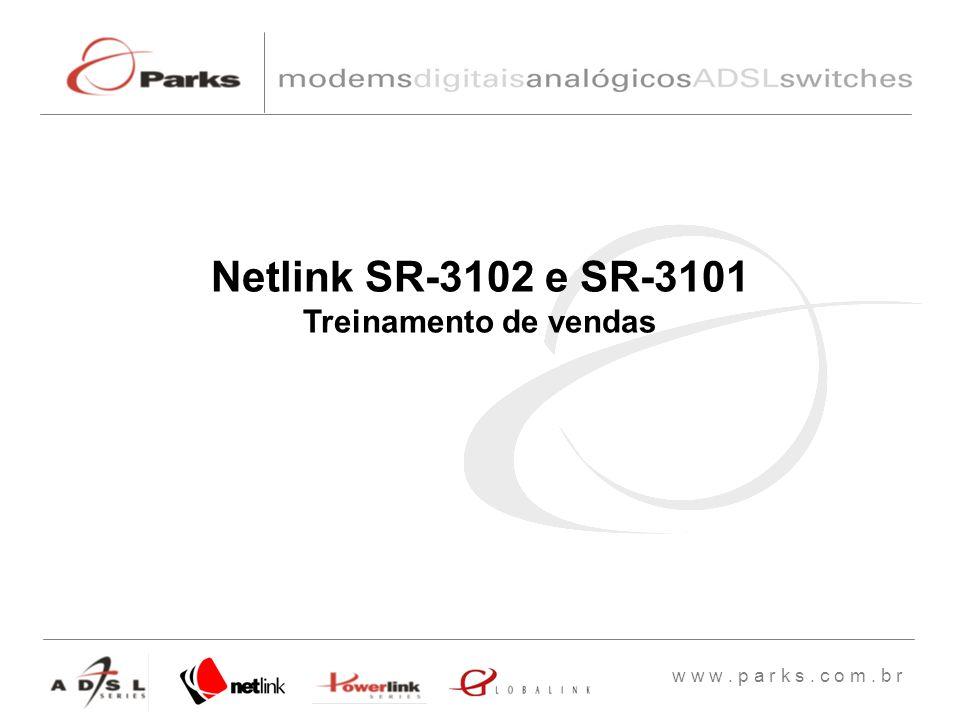 Netlink SR-3102 e SR-3101 Treinamento de vendas