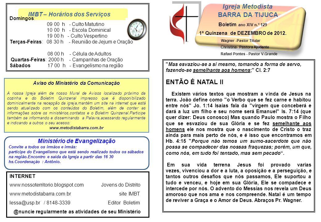 Igreja Metodista BARRA DA TIJUCA