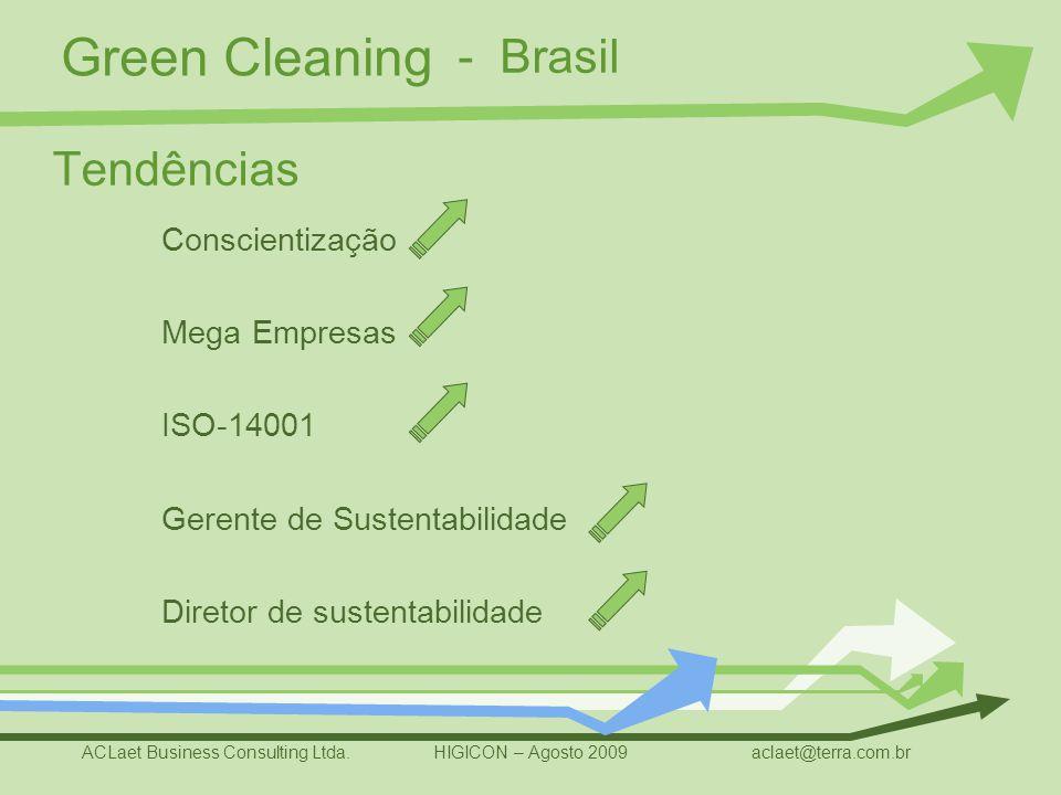 - Brasil Tendências Conscientização Mega Empresas ISO-14001