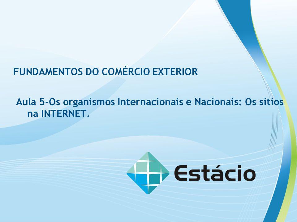 FUNDAMENTOS DO COMÉRCIO EXTERIOR