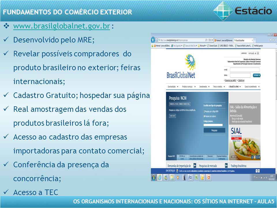www.brasilglobalnet.gov.br :