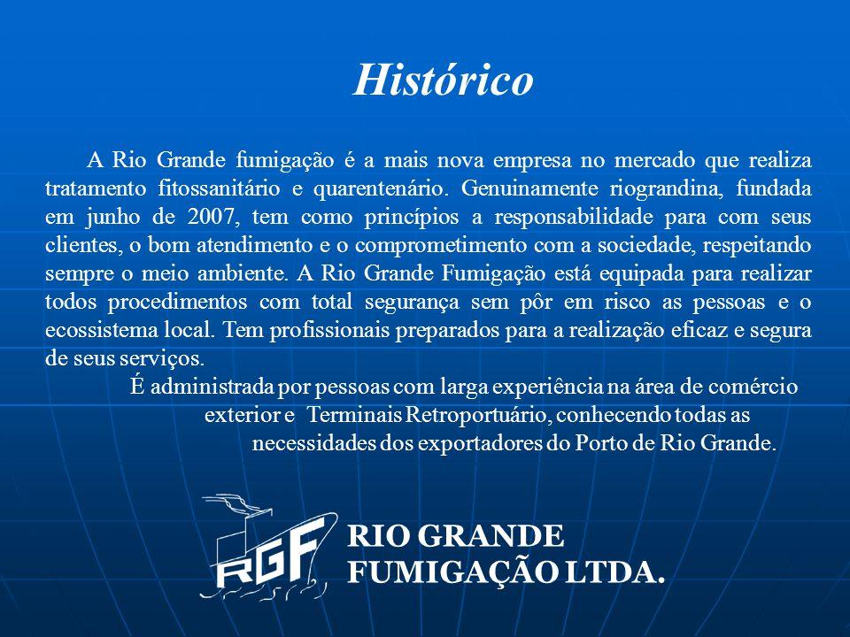 Histórico RIO GRANDE FUMIGAÇÃO LTDA.