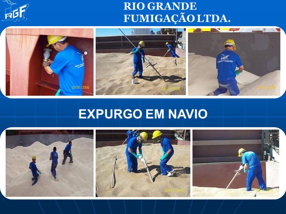 RIO GRANDE FUMIGAÇÃO LTDA. EXPURGO EM NAVIO