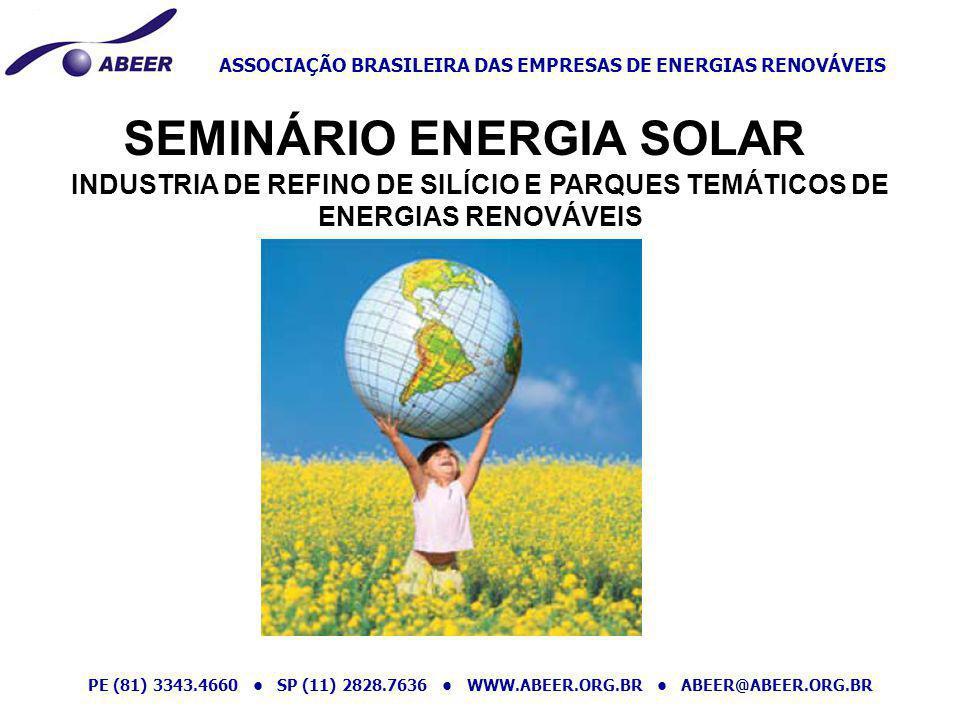 SEMINÁRIO ENERGIA SOLAR