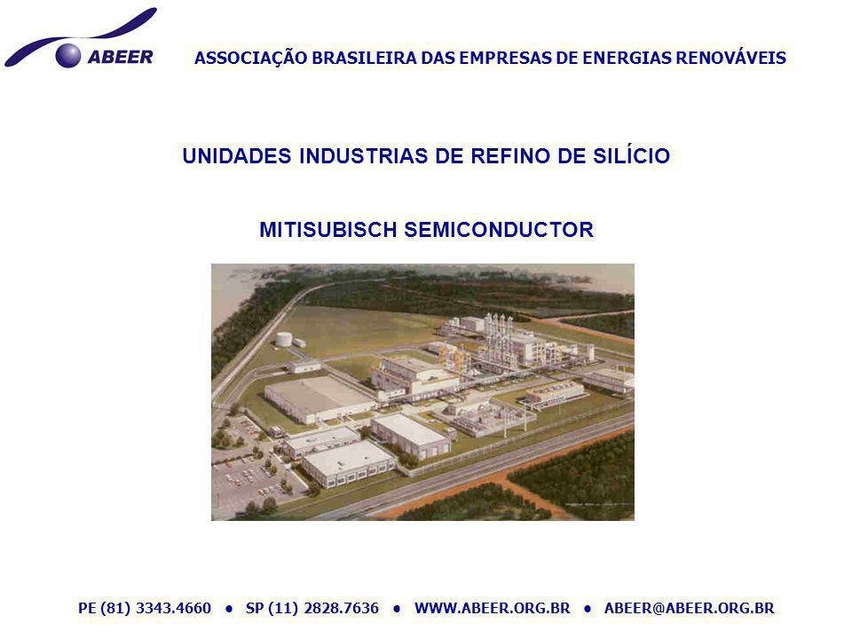 UNIDADES INDUSTRIAS DE REFINO DE SILÍCIO MITISUBISCH SEMICONDUCTOR