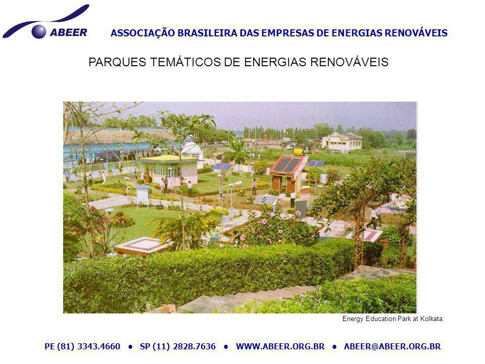 PARQUES TEMÁTICOS DE ENERGIAS RENOVÁVEIS