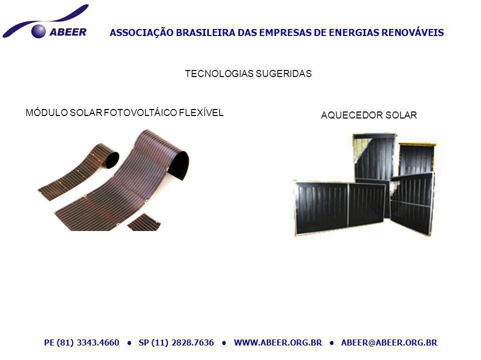 TECNOLOGIAS SUGERIDAS