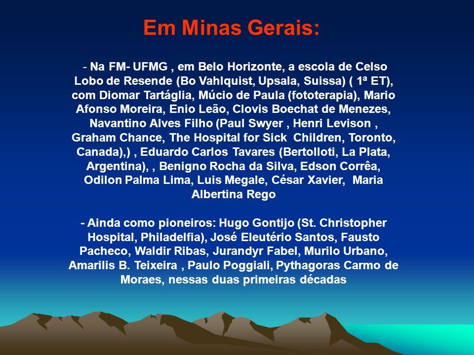 Em Minas Gerais: