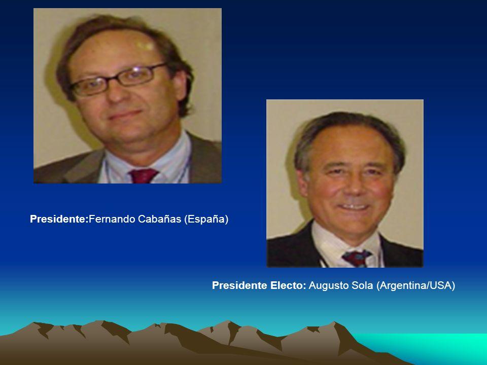 Presidente:Fernando Cabañas (España)