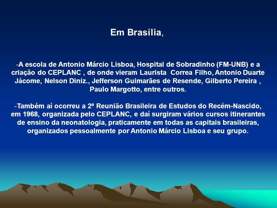 Em Brasília,