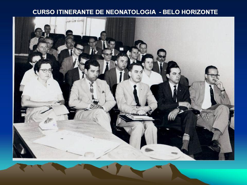 CURSO ITINERANTE DE NEONATOLOGIA - BELO HORIZONTE