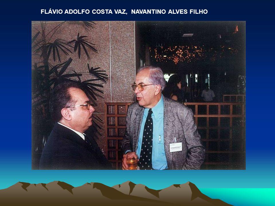 FLÁVIO ADOLFO COSTA VAZ, NAVANTINO ALVES FILHO