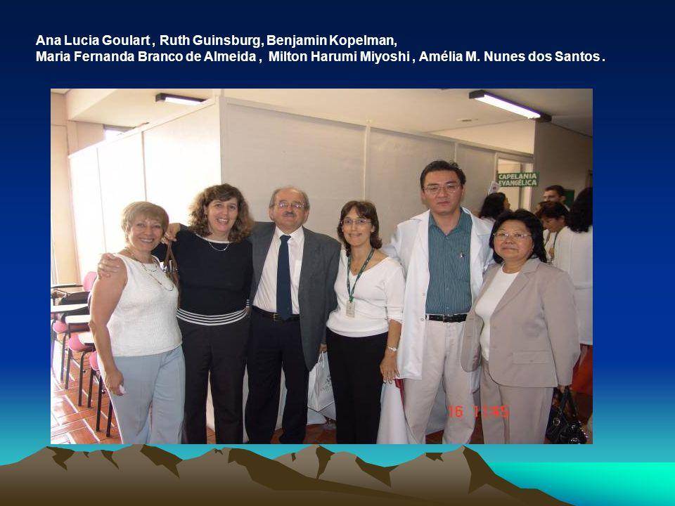 Ana Lucia Goulart , Ruth Guinsburg, Benjamin Kopelman,