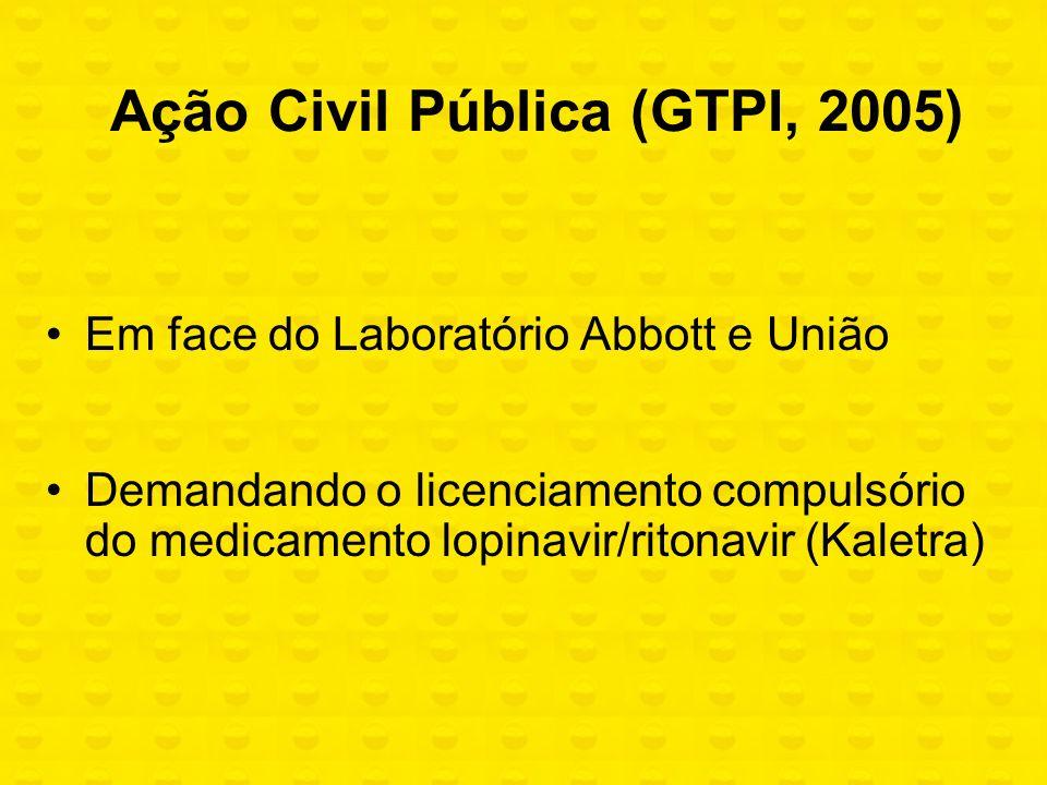 Ação Civil Pública (GTPI, 2005)