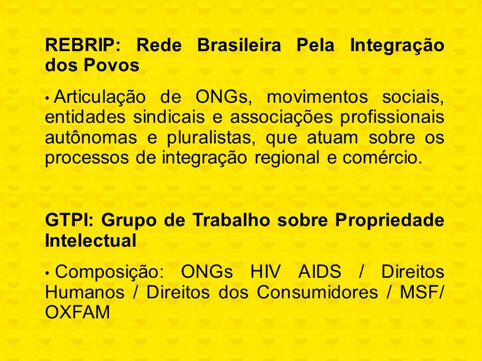 REBRIP: Rede Brasileira Pela Integração dos Povos