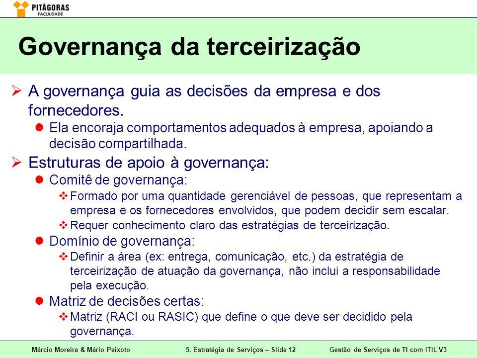 Governança da terceirização