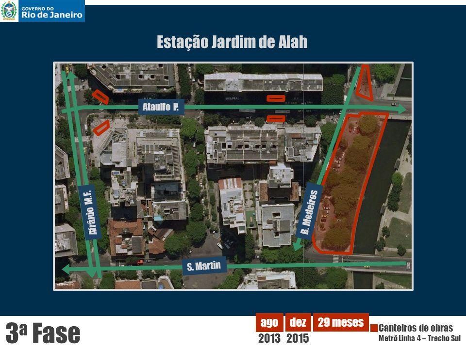 3a Fase Estação Jardim de Alah 2013 ago dez 2015 29 meses Ataulfo P.