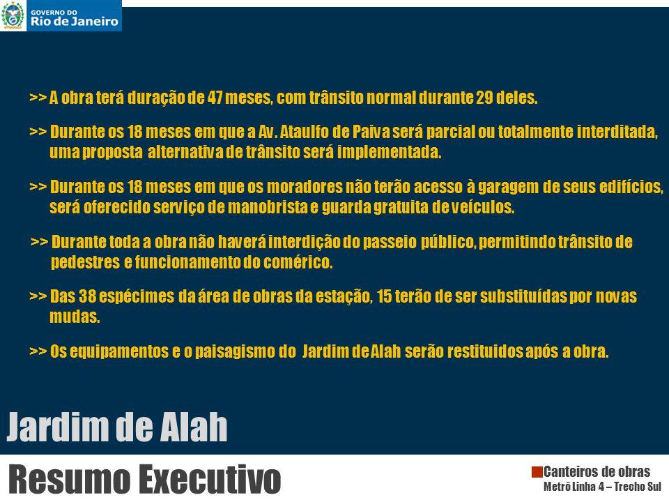 Jardim de Alah Resumo Executivo