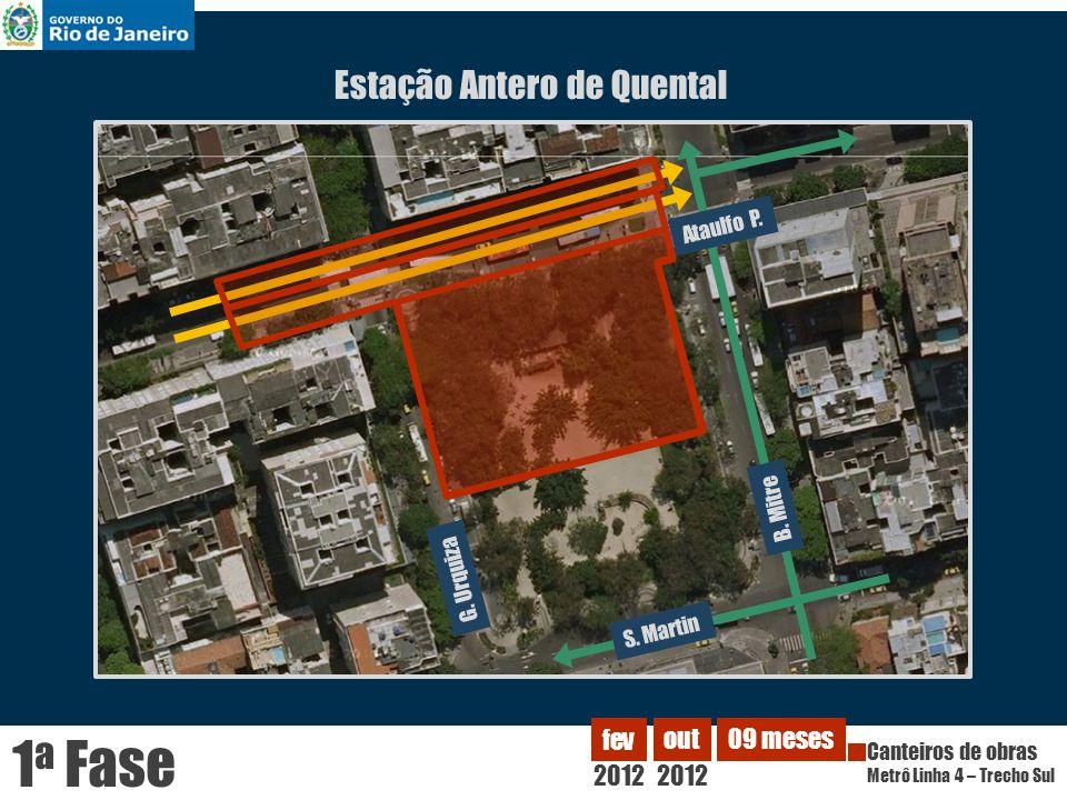 1a Fase Estação Antero de Quental 2012 fev out 09 meses Ataulfo P.