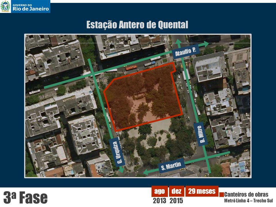 3a Fase Estação Antero de Quental 2013 ago dez 2015 29 meses