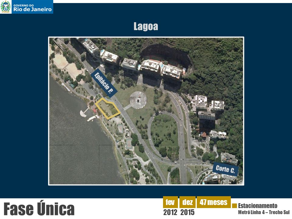 Fase Única Lagoa 2012 fev dez 2015 47 meses Epitácio P. Corte C.