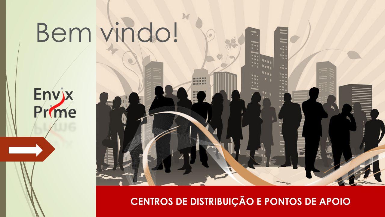 CENTROS DE DISTRIBUIÇÃO E PONTOS DE APOIO