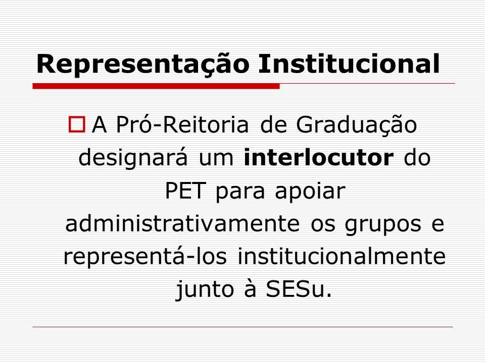 Representação Institucional