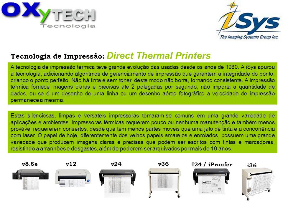 Tecnologia de Impressão: Direct Thermal Printers