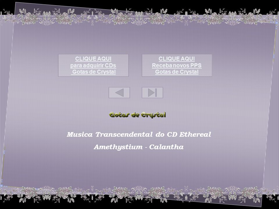 Musica Transcendental do CD Ethereal Amethystium - Calantha