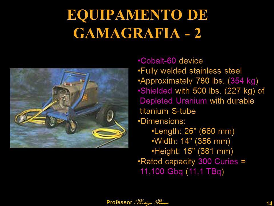 EQUIPAMENTO DE GAMAGRAFIA - 2
