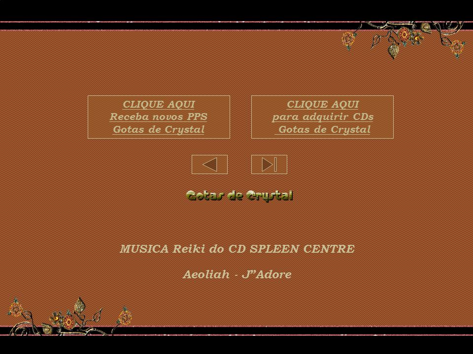 MUSICA Reiki do CD SPLEEN CENTRE