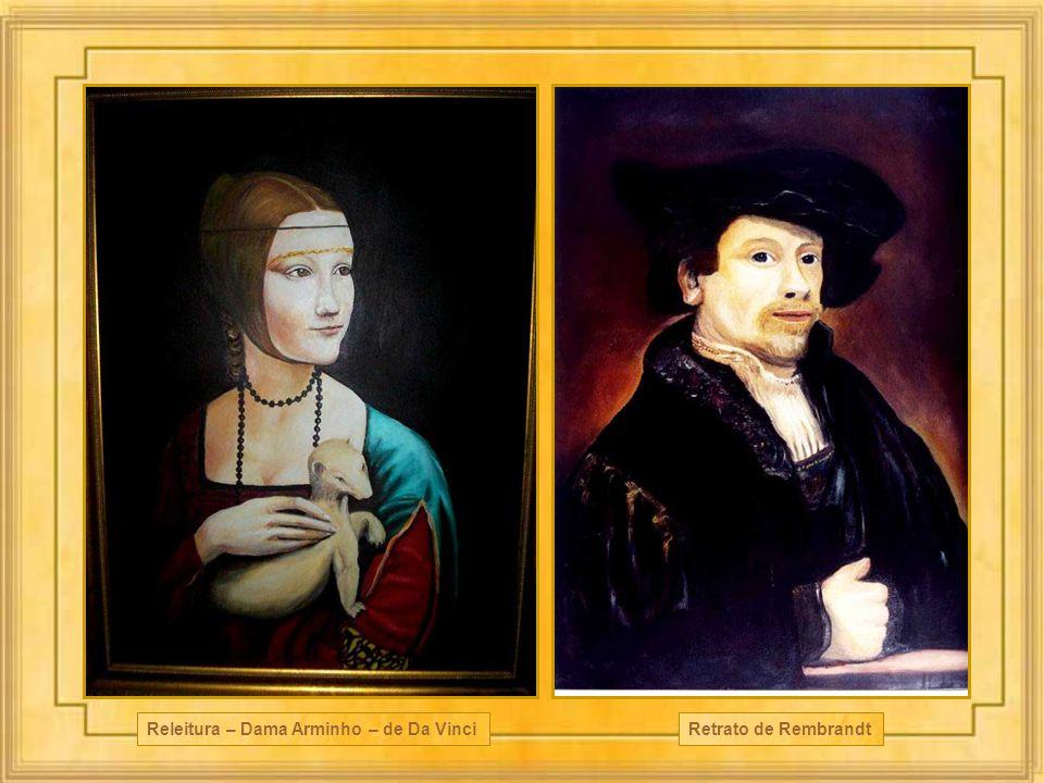 Releitura – Dama Arminho – de Da Vinci