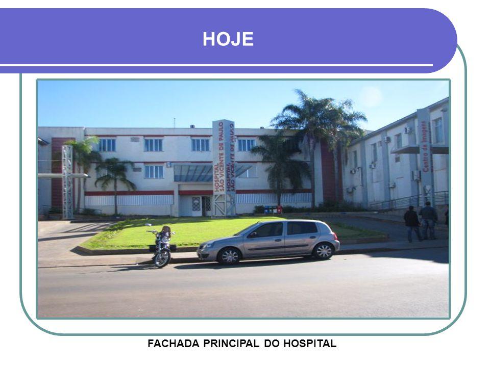FACHADA PRINCIPAL DO HOSPITAL
