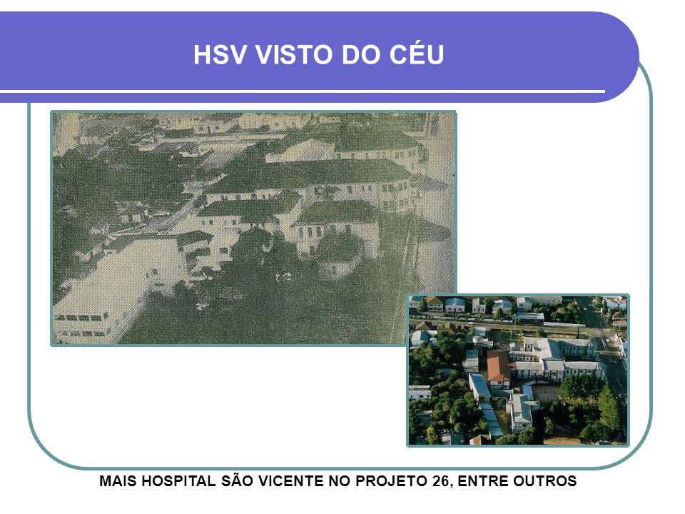 MAIS HOSPITAL SÃO VICENTE NO PROJETO 26, ENTRE OUTROS