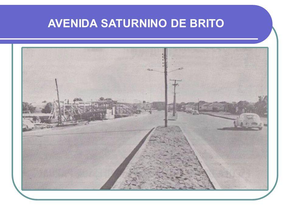 AVENIDA SATURNINO DE BRITO