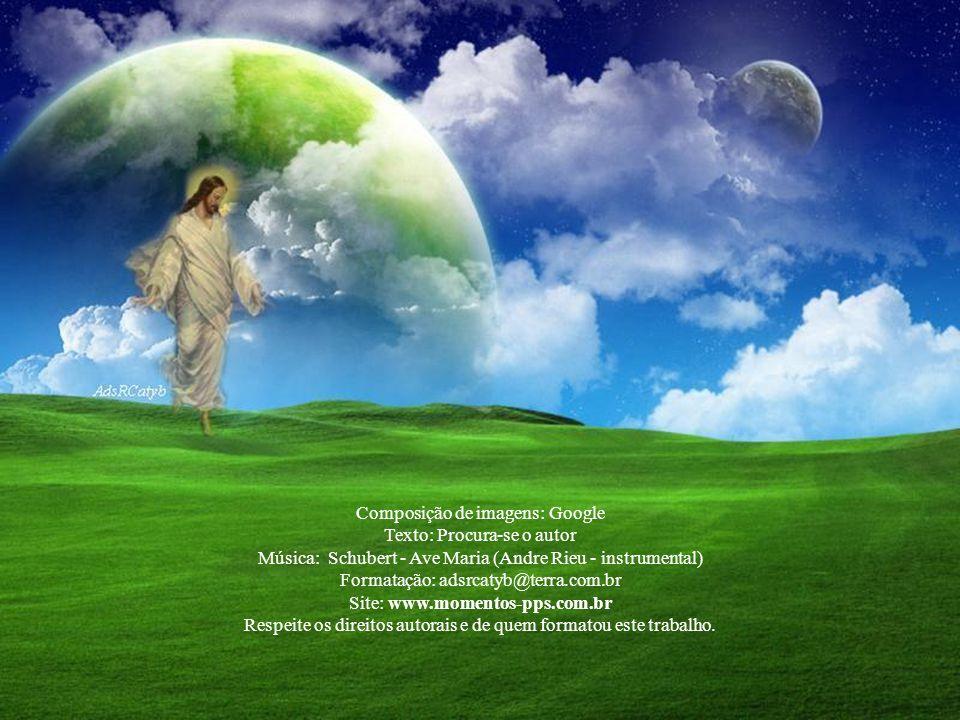 Composição de imagens: Google Texto: Procura-se o autor Música: Schubert - Ave Maria (Andre Rieu - instrumental) Formatação: adsrcatyb@terra.com.br Site: www.momentos-pps.com.br Respeite os direitos autorais e de quem formatou este trabalho.