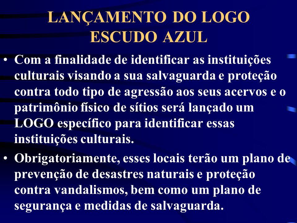 LANÇAMENTO DO LOGO ESCUDO AZUL