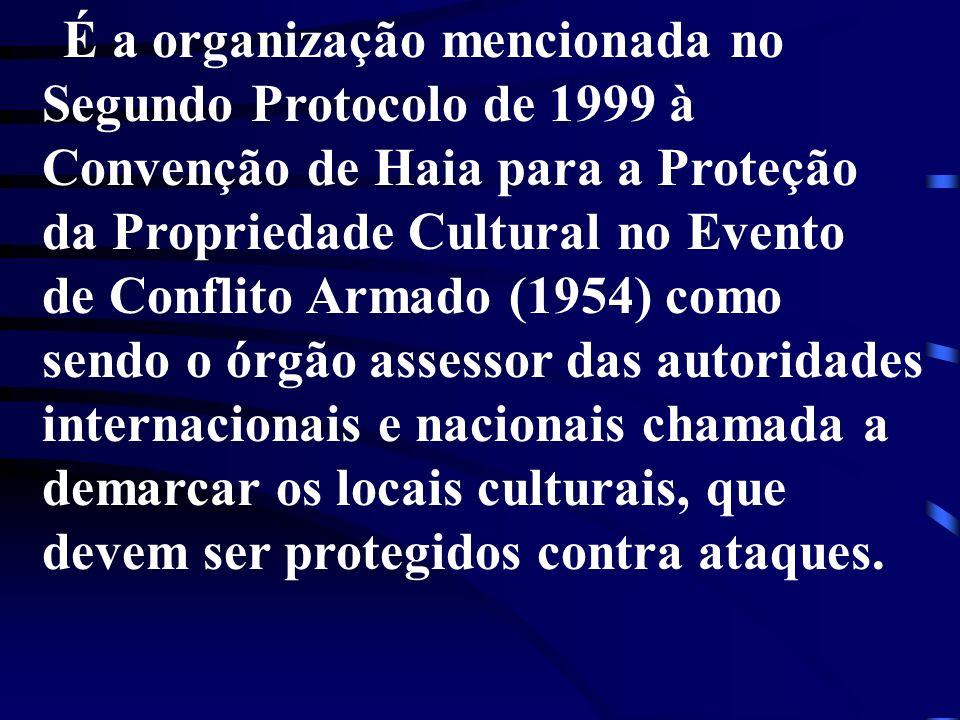 Convenção de Haia para a Proteção da Propriedade Cultural no Evento
