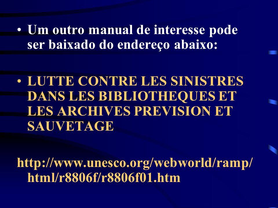 Um outro manual de interesse pode ser baixado do endereço abaixo: