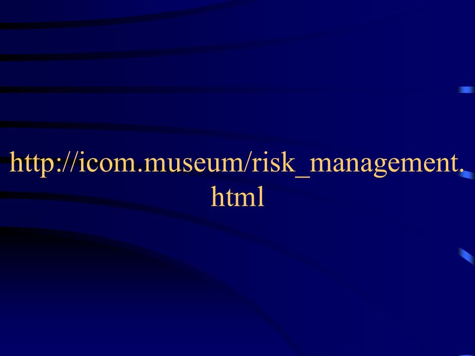 http://icom.museum/risk_management.html