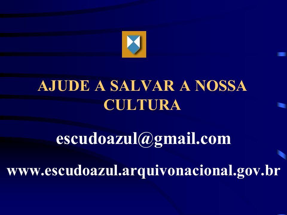 AJUDE A SALVAR A NOSSA CULTURA