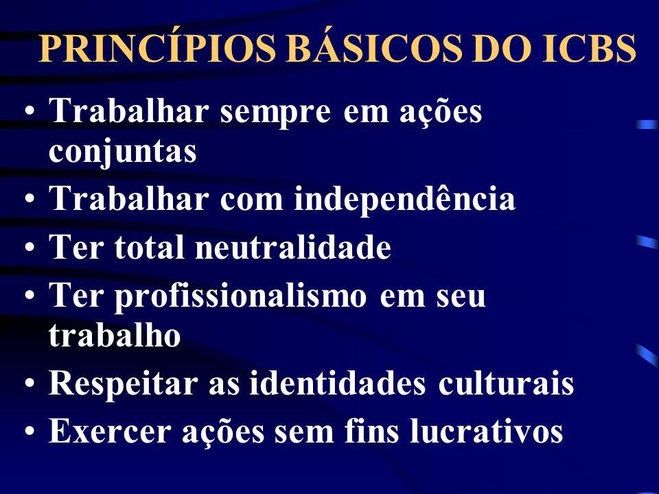 PRINCÍPIOS BÁSICOS DO ICBS